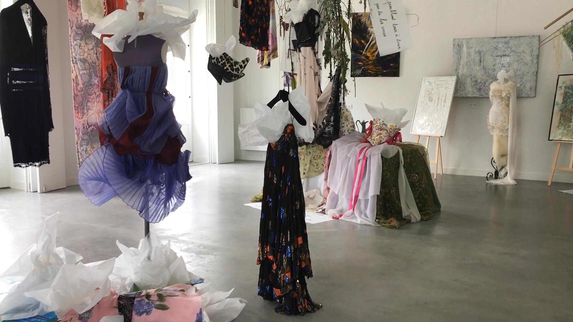 À Quimper : exposition « Rêverie dans le jardin de Cora » de Christophe Le Bo