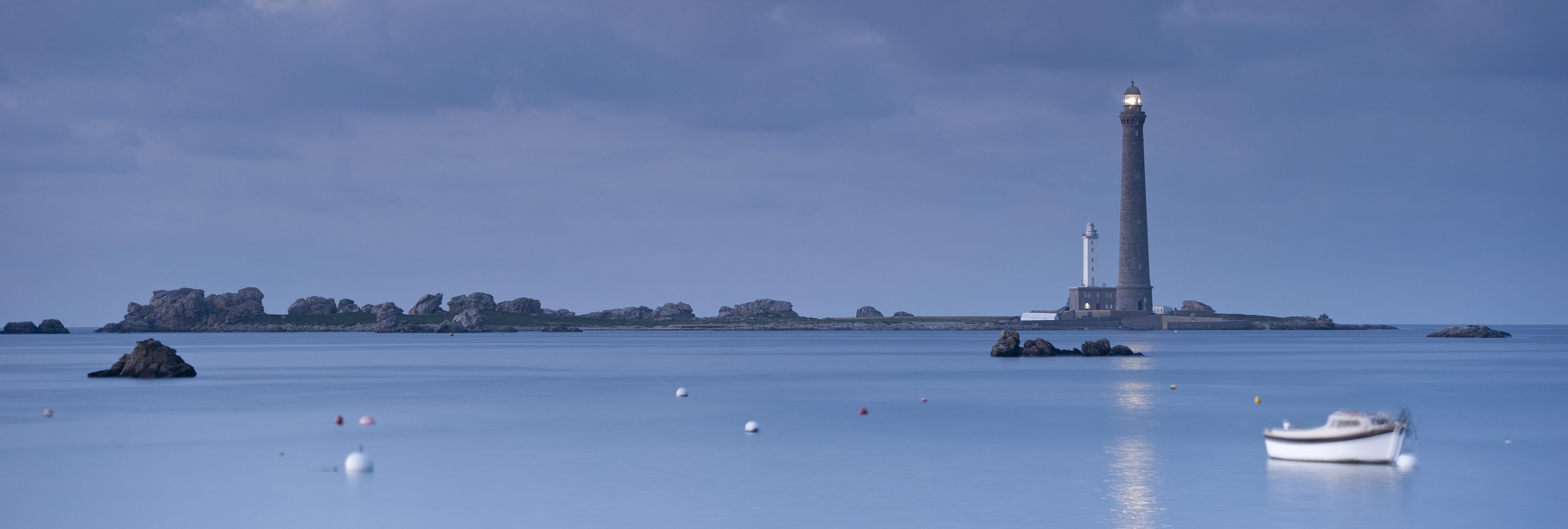 L'île Vierge en kayak, en amoureux