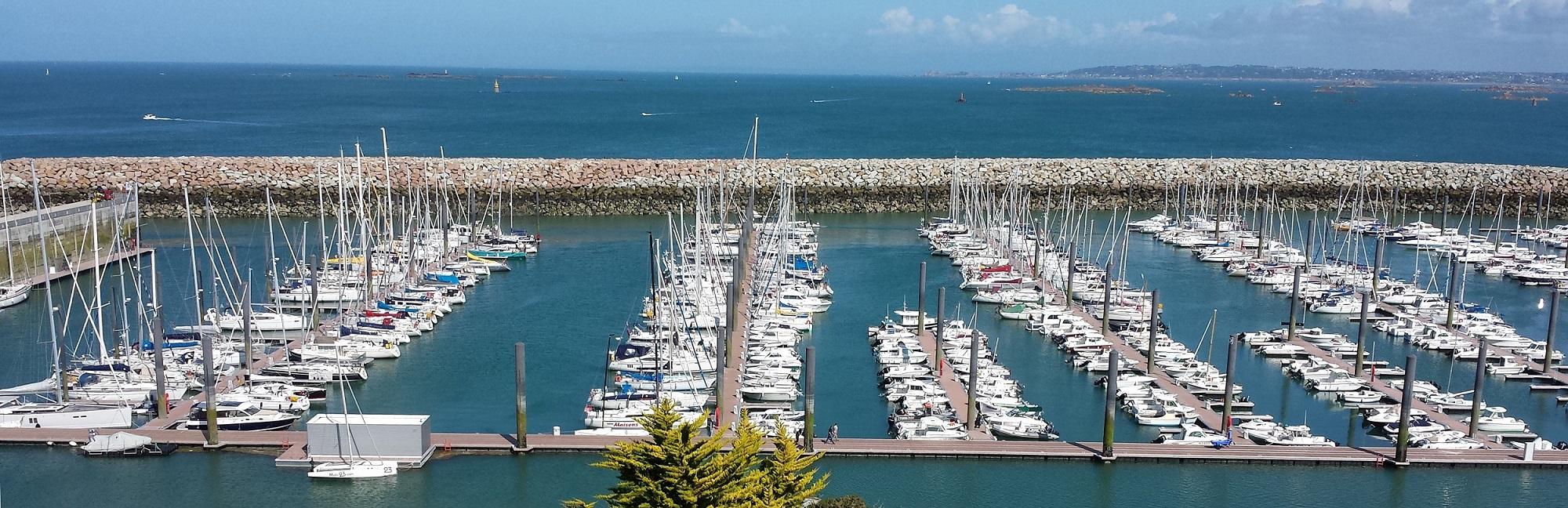 Port du Bloscon à Roscoff