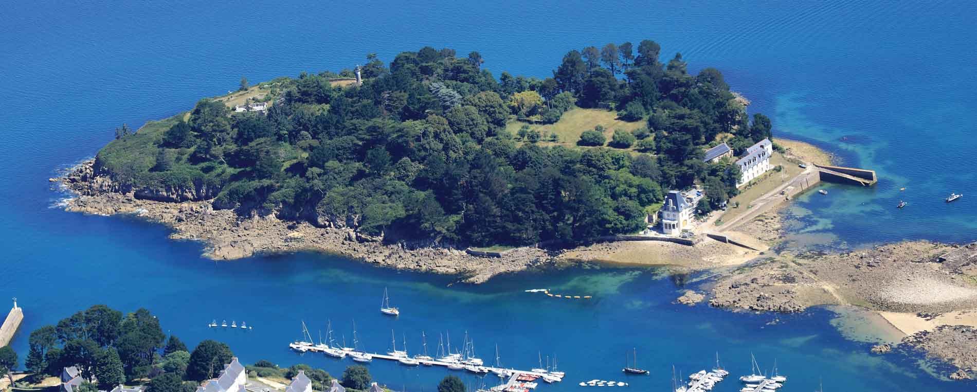 L'île Tristan à Douarnenez
