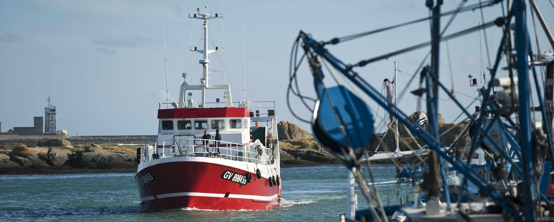 Les ports de pêche du pays bigouden