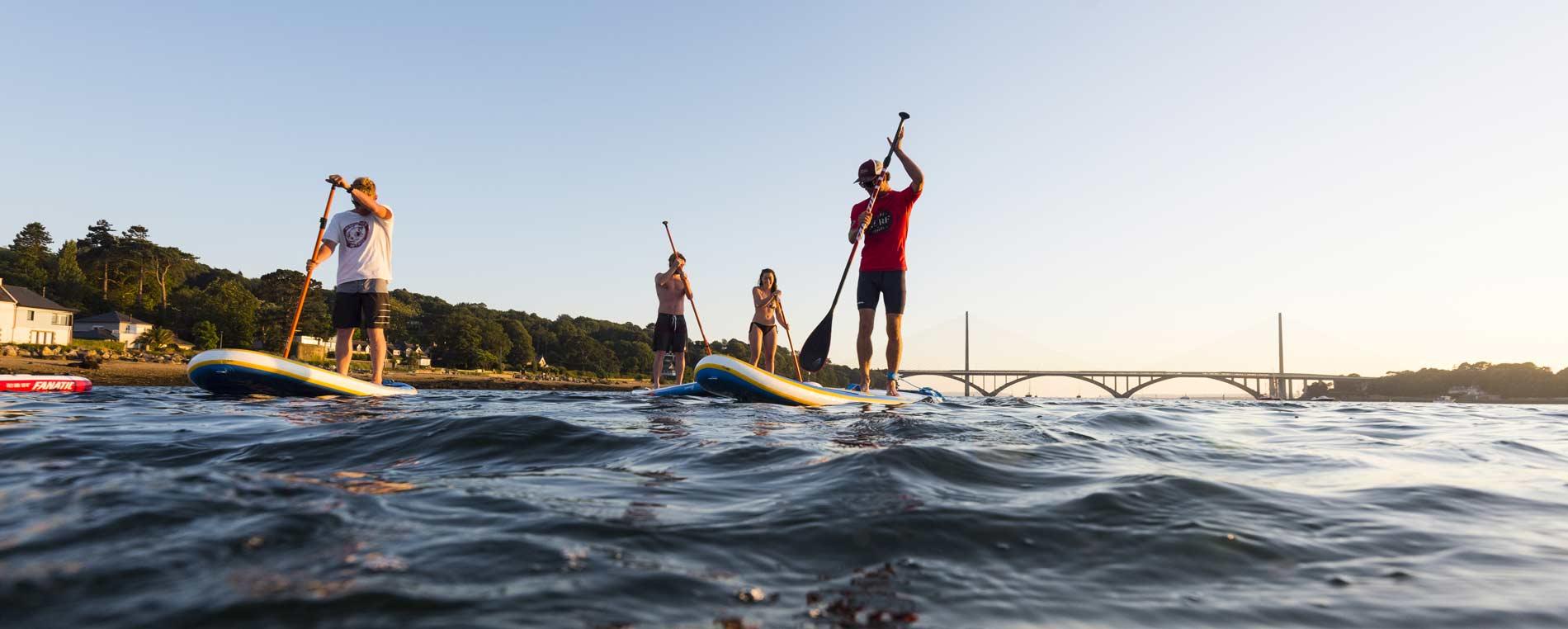 Le Stand up paddle en Finistère :  les meilleurs spots de Bretagne