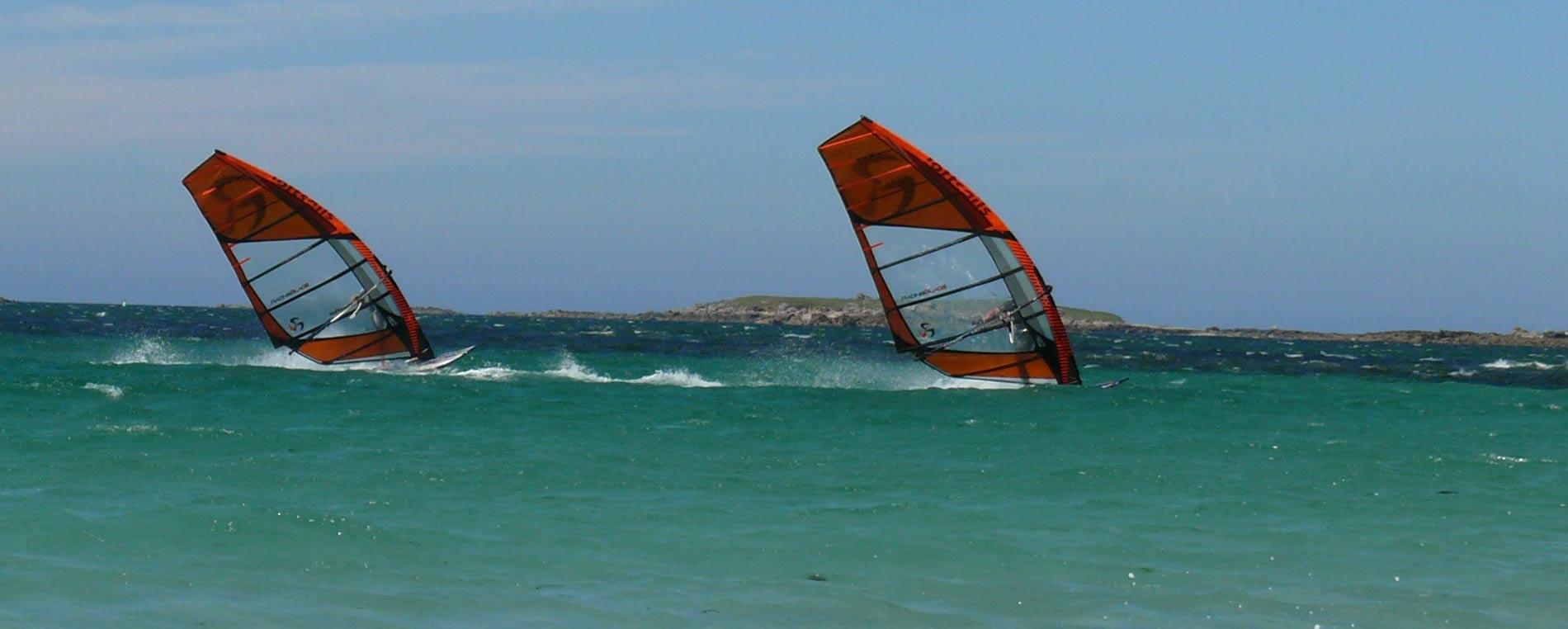 Windsurf et planche à voile en Finistère, direction la Bretagne !