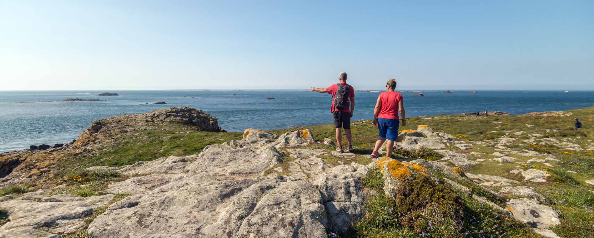 GR34 : le Tour de Molène à pied
