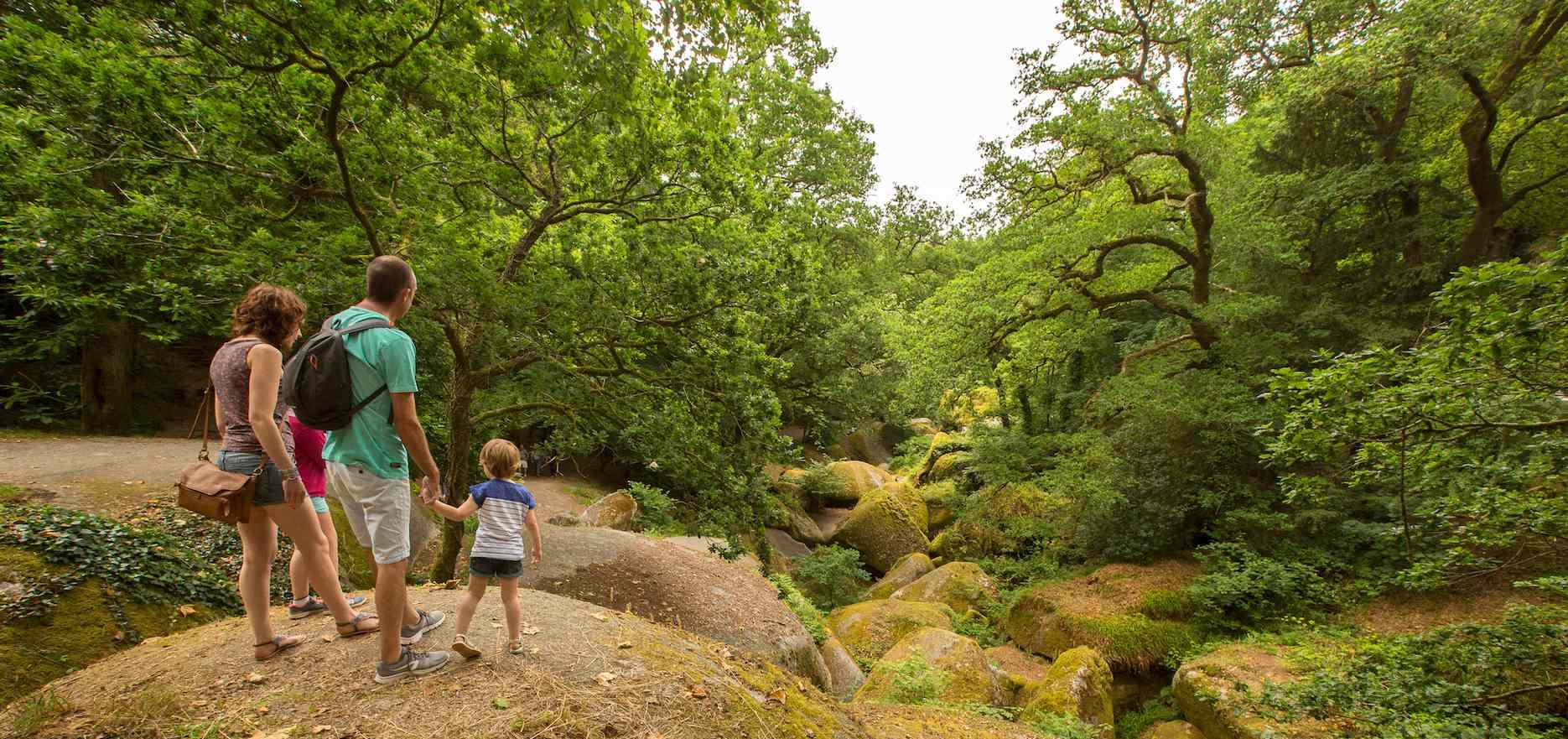 Huelgoat : la forêt, le chaos rocheux