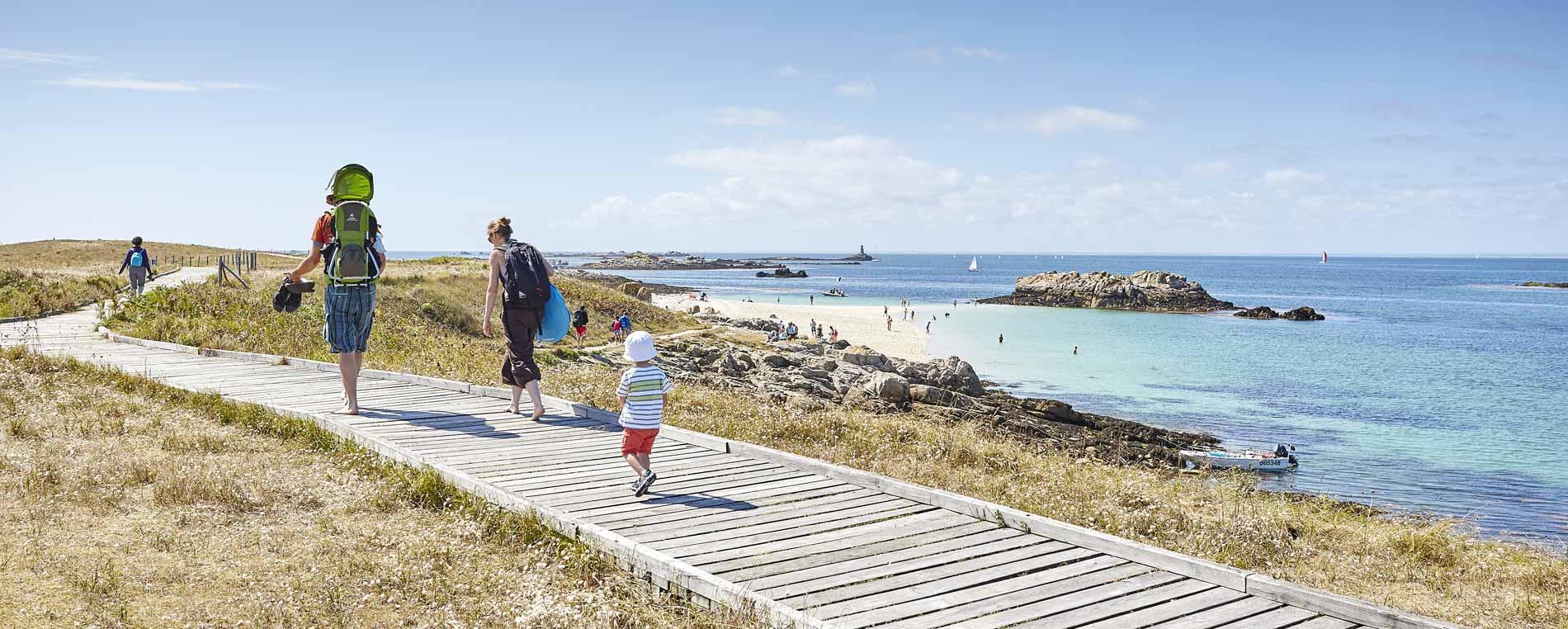 L'archipel des Glénan dans le sud Finistère