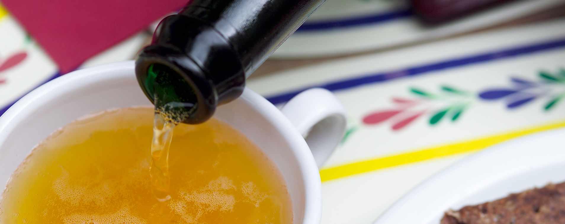 Du bruit dans ma cuisine : les 5 (bonnes) raisons de déguster du cidre*