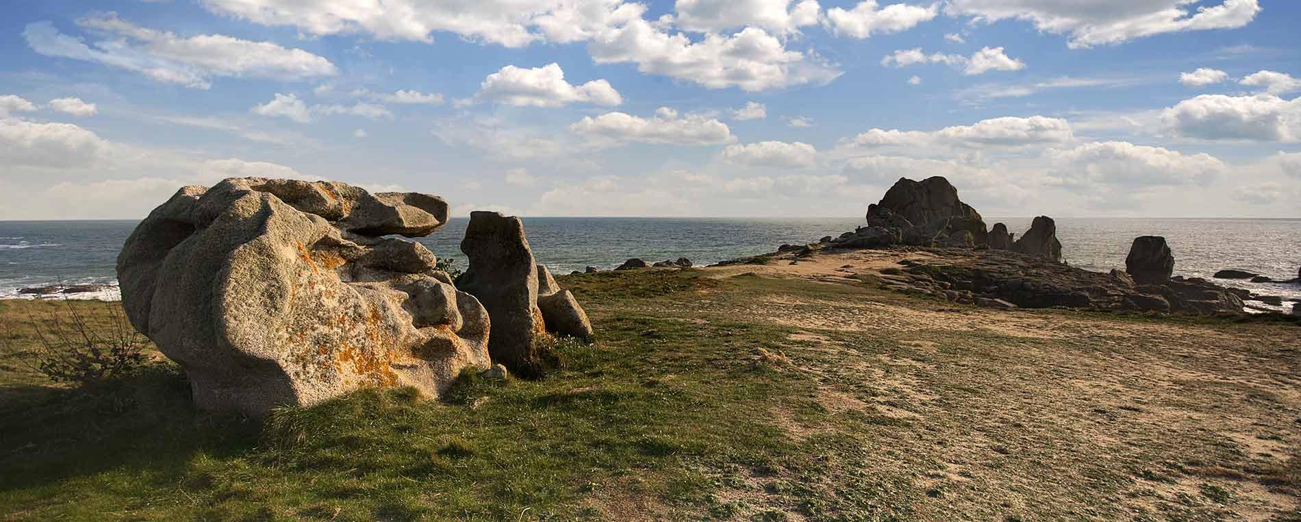 Les étonnants rochers du Goudoul