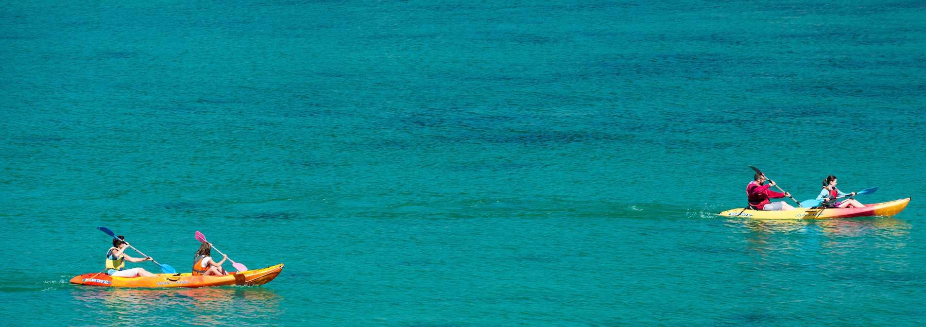 Les balades et randonnées nautiques