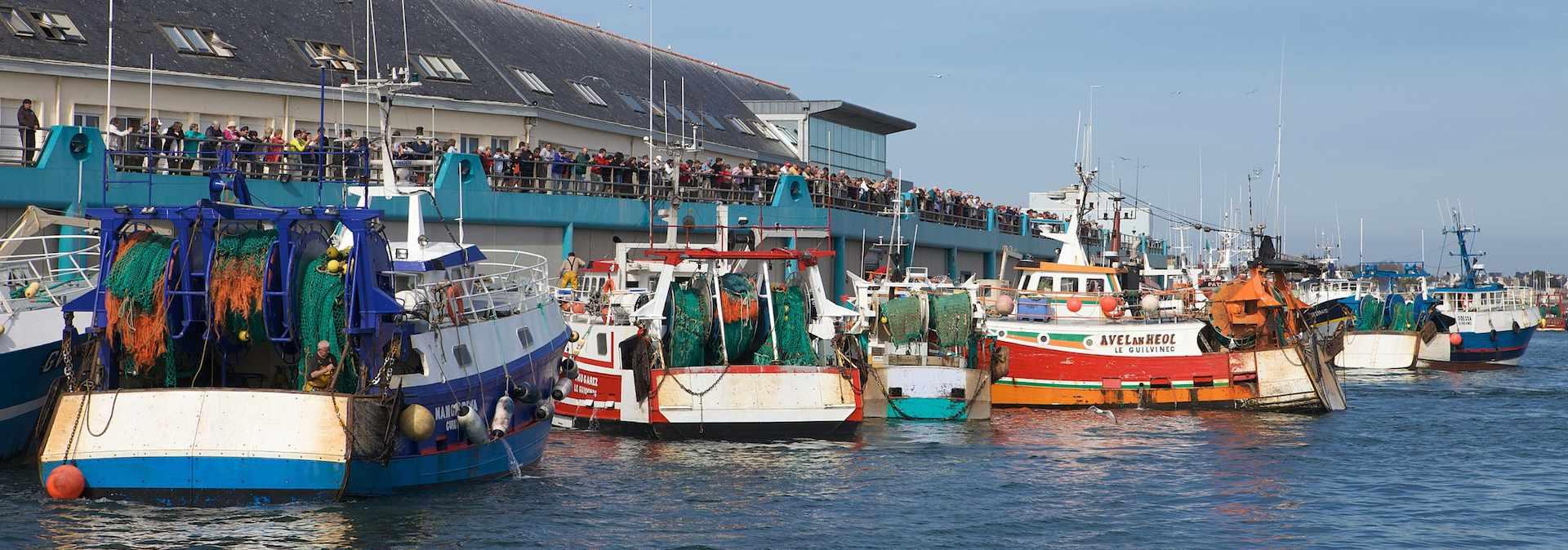Pêche en mer en Finistère