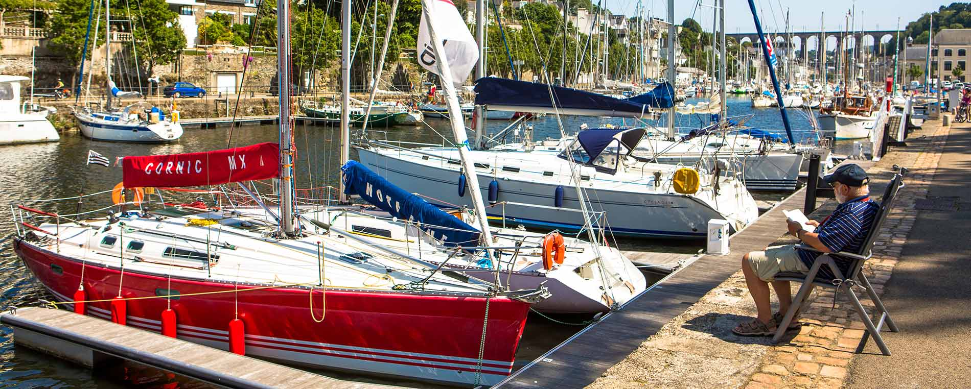 Morlaix : un port en coeur de ville
