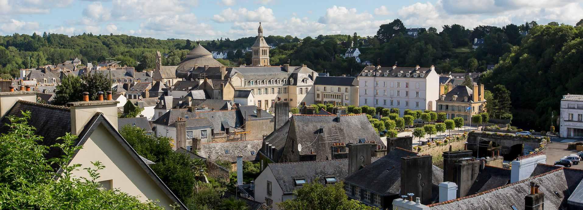 Quimperlé, porte d'entrée du sud du Finistère