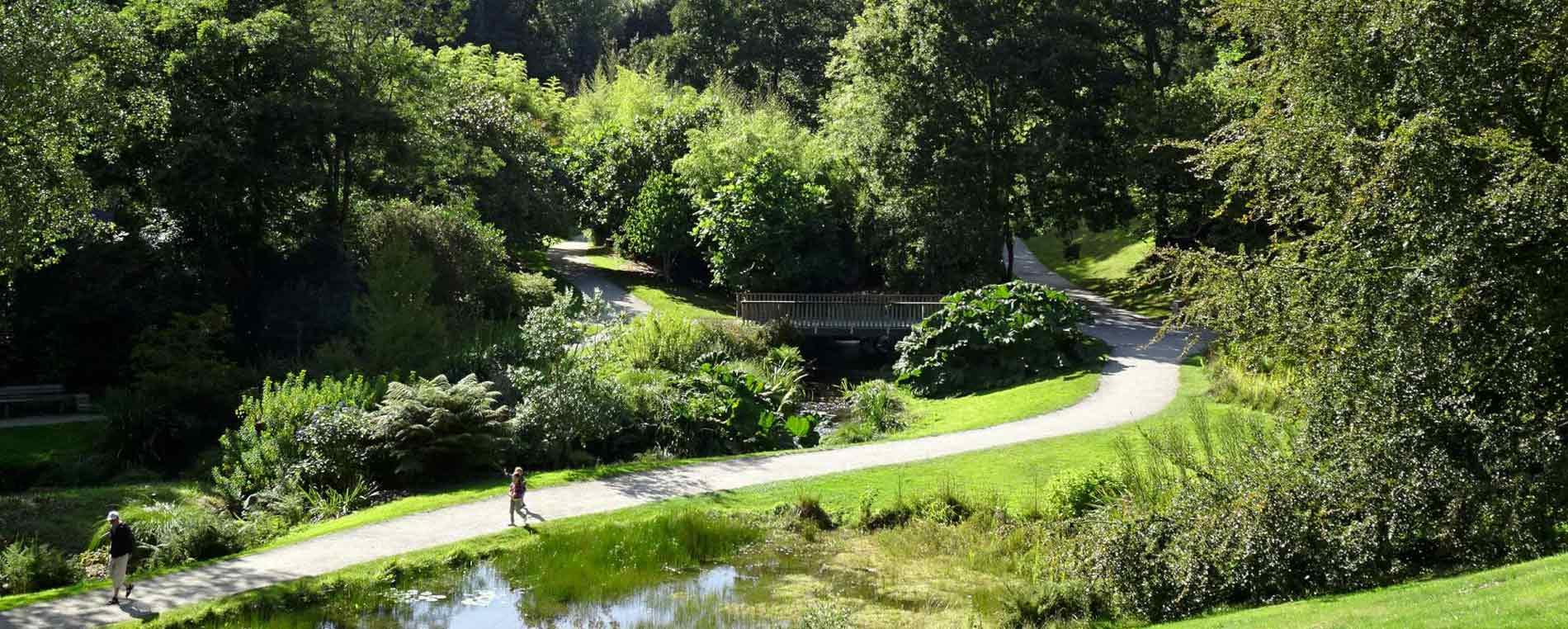 Brest et ses jardins: un voyage autour du monde
