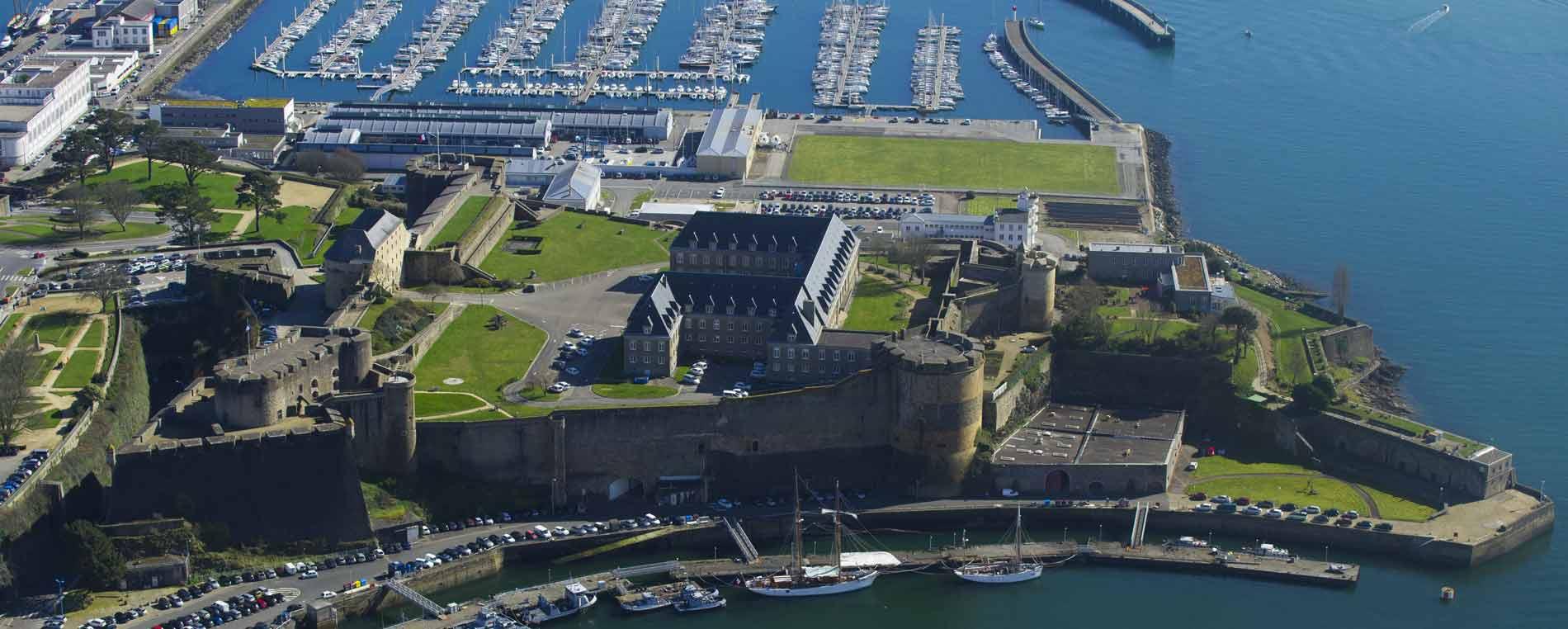 Le château, Musée national de la Marine à Brest