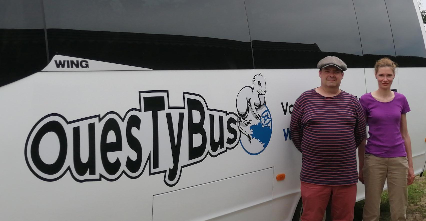 OuesTyBus, à la découverte du Finistère