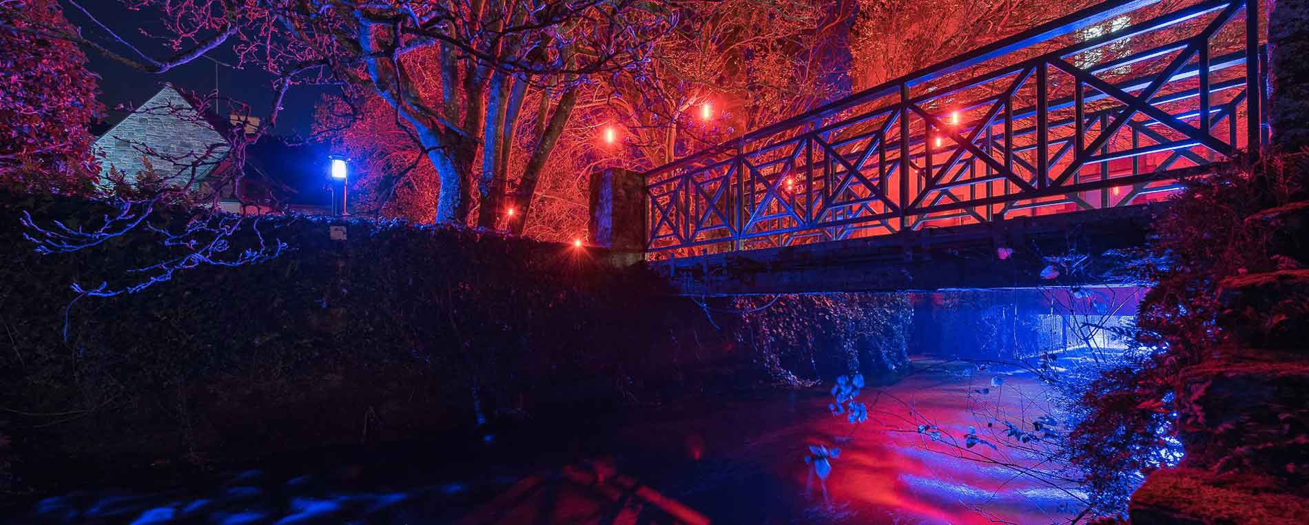 Pont-Aven en lumière