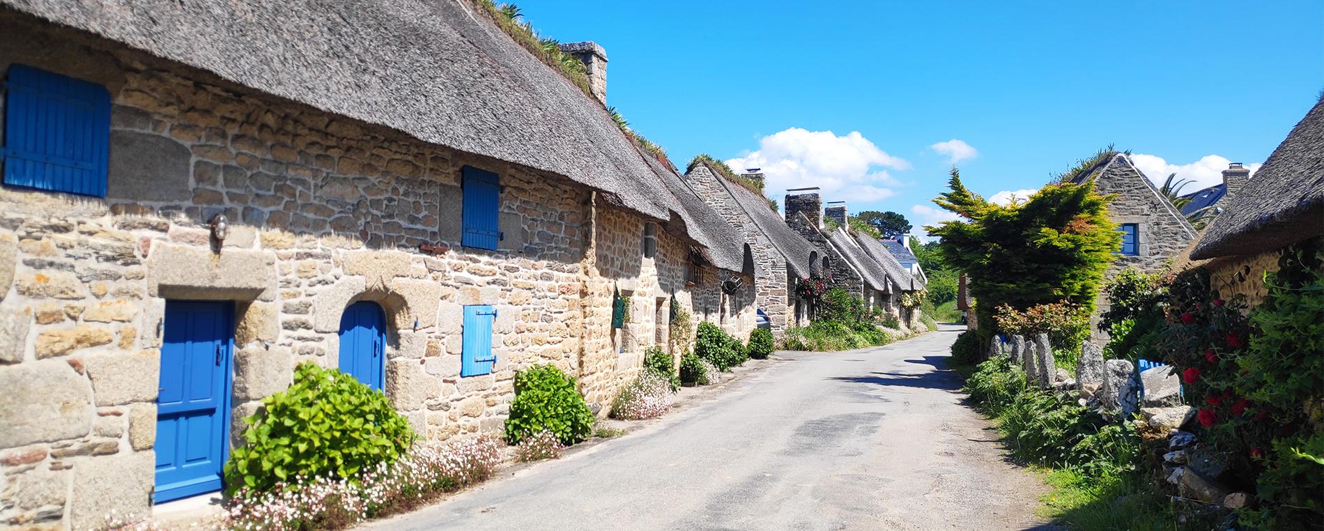 Névez en sud Finistère