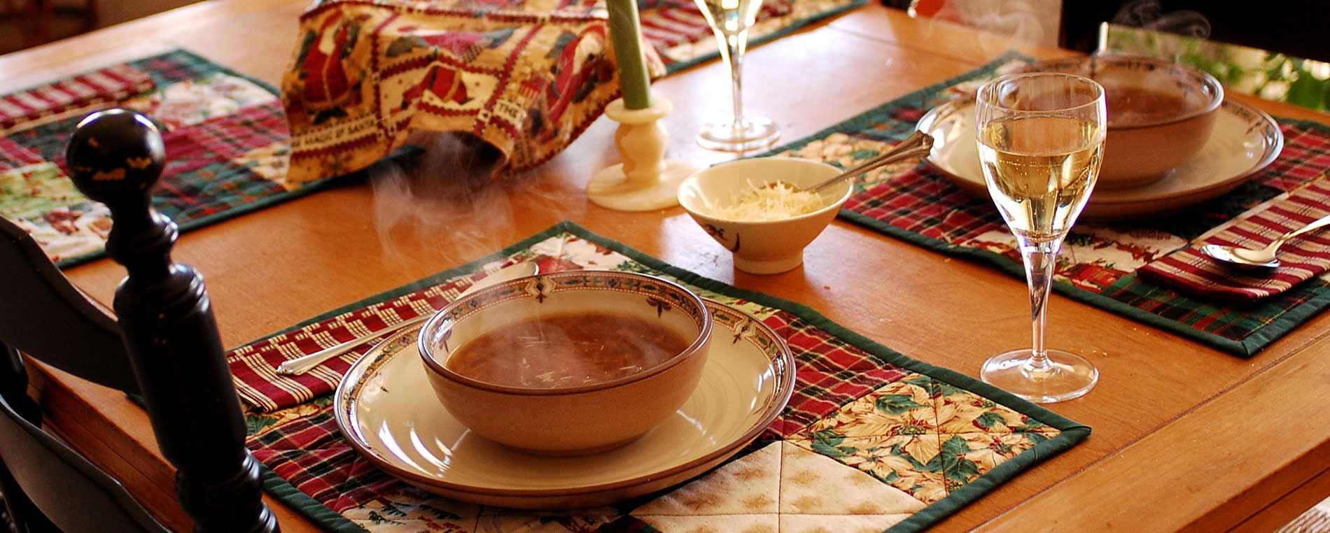 La soupe à L'Oignon de Roscoff