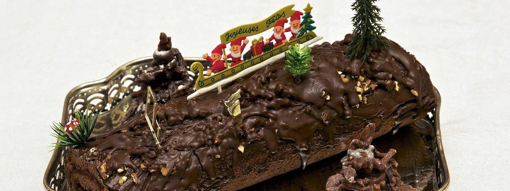 Noël : nos recettes de bûches bretonnes