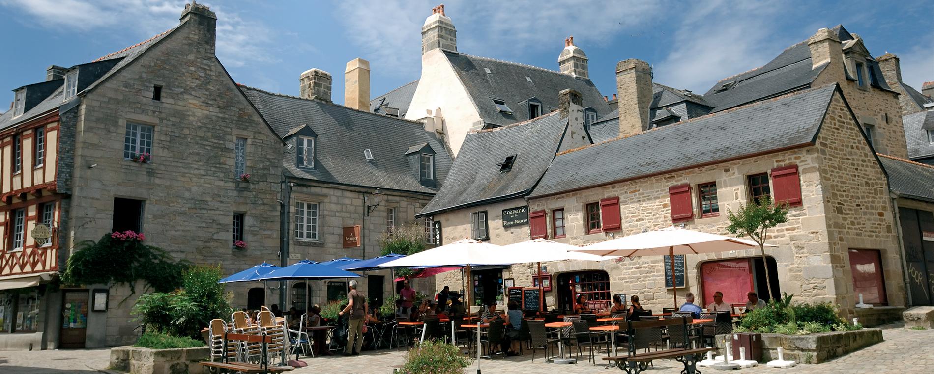La Place au Beurre à Quimper