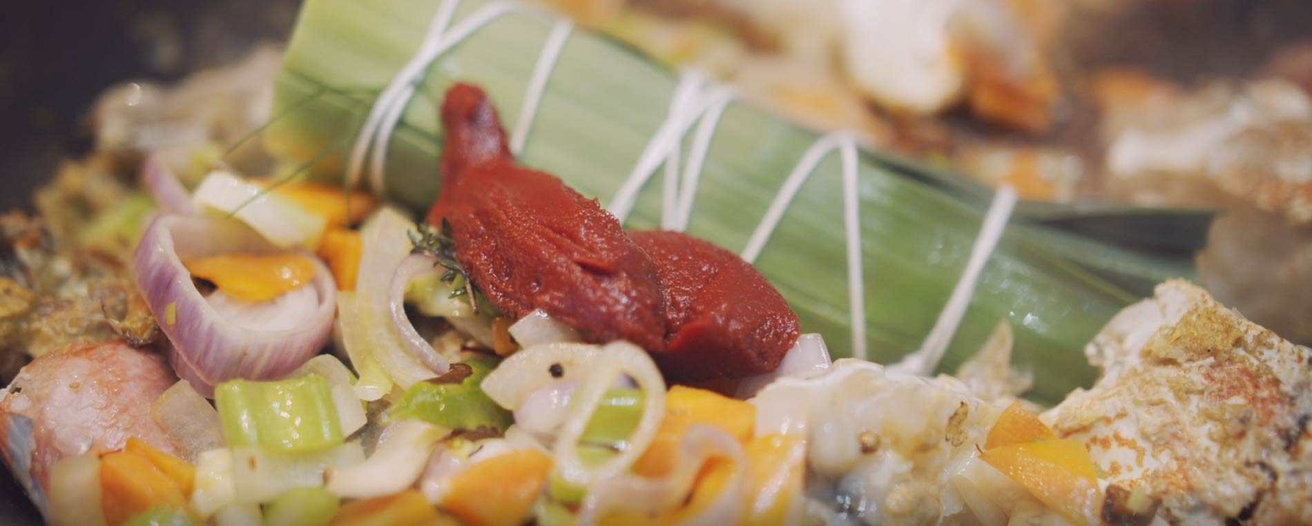 Recettes de chefs : la soupe de poisson de Nicolas Conraux
