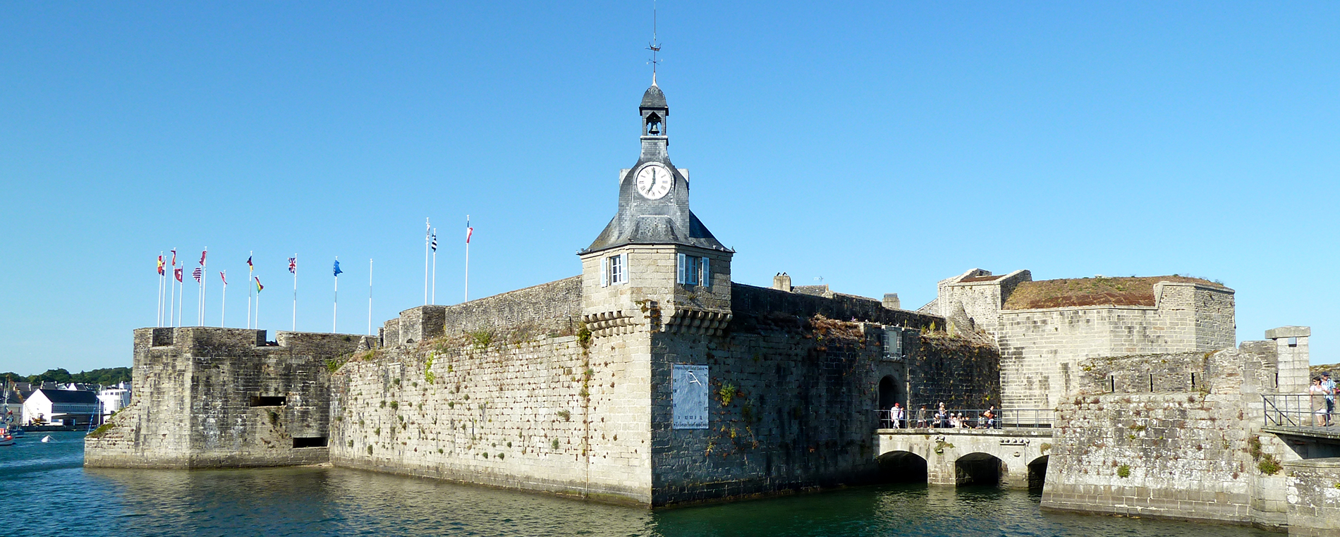 La Ville-Close à Concarneau