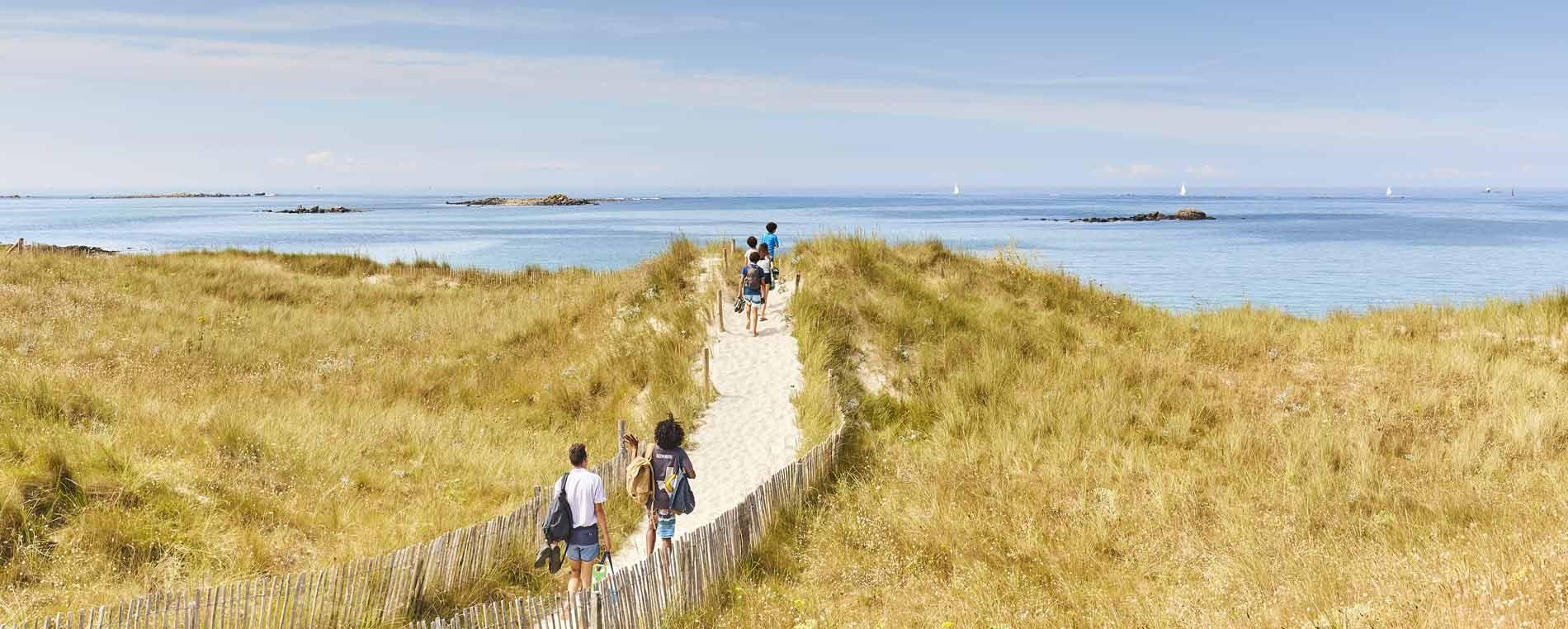 Les dunes de Sainte-Marguerite aux confins des abers