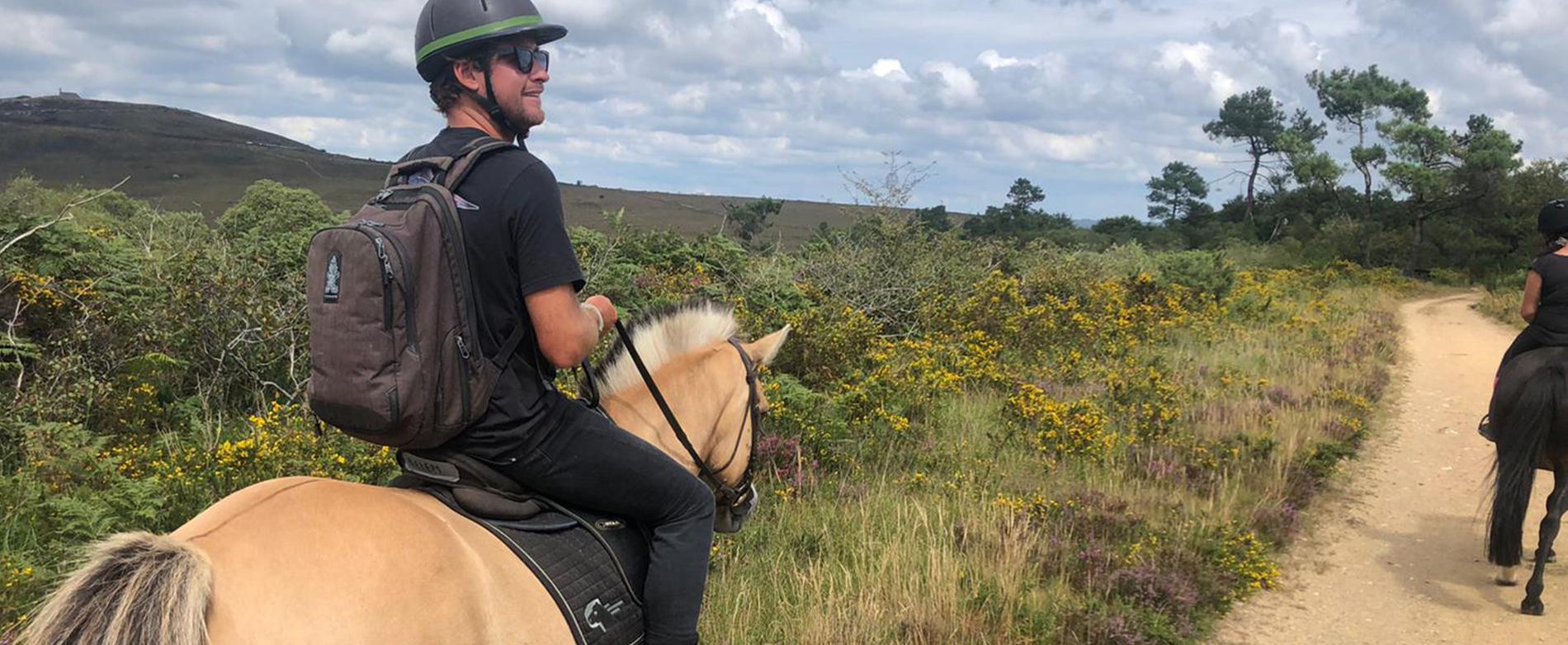 À cheval dans les Monts d'Arrée