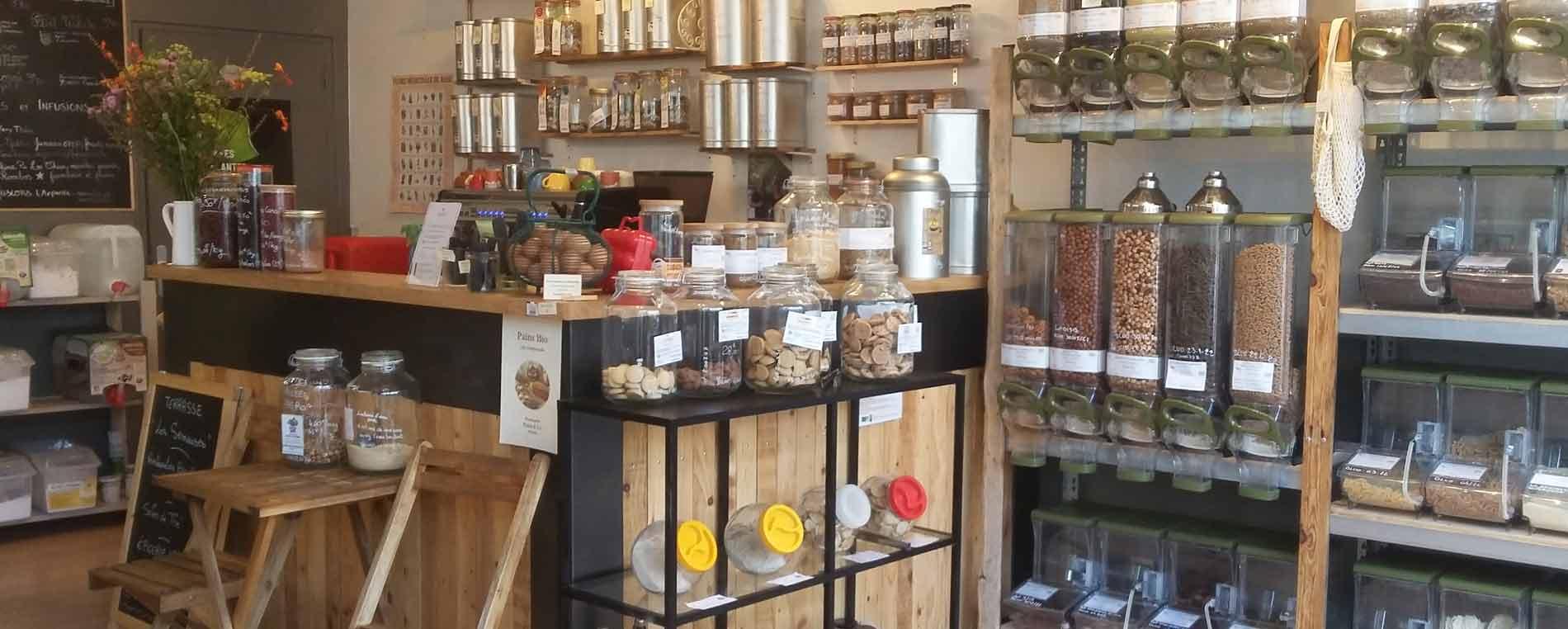 Quimper : Les semeuses, une épicerie vrac et une petite restauration bio