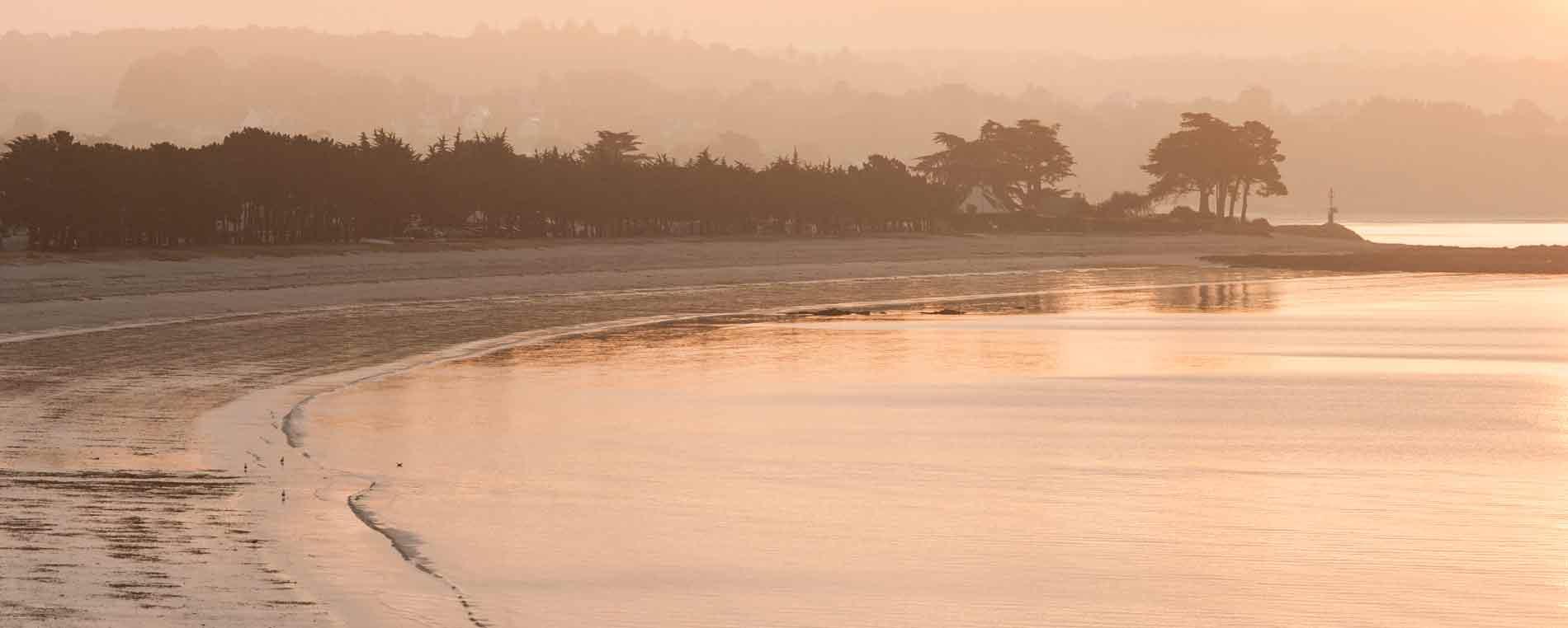 Webcam de la plage du Cap-Coz à Fouesnant