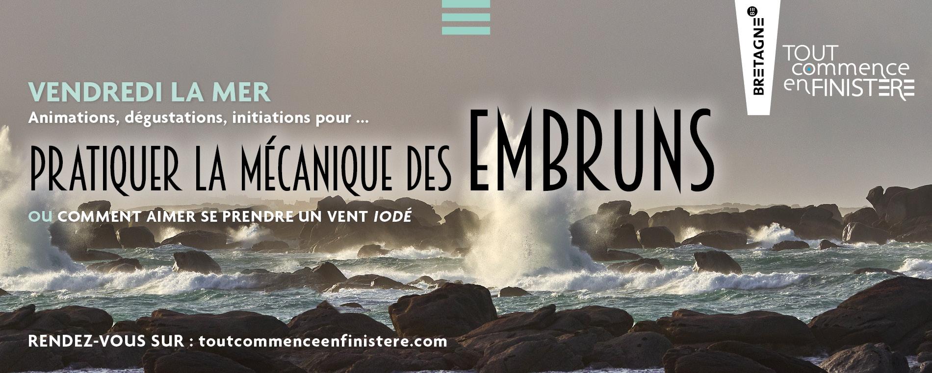 Que faire en Finistère ? - Semaine du 12 au 18 octobre