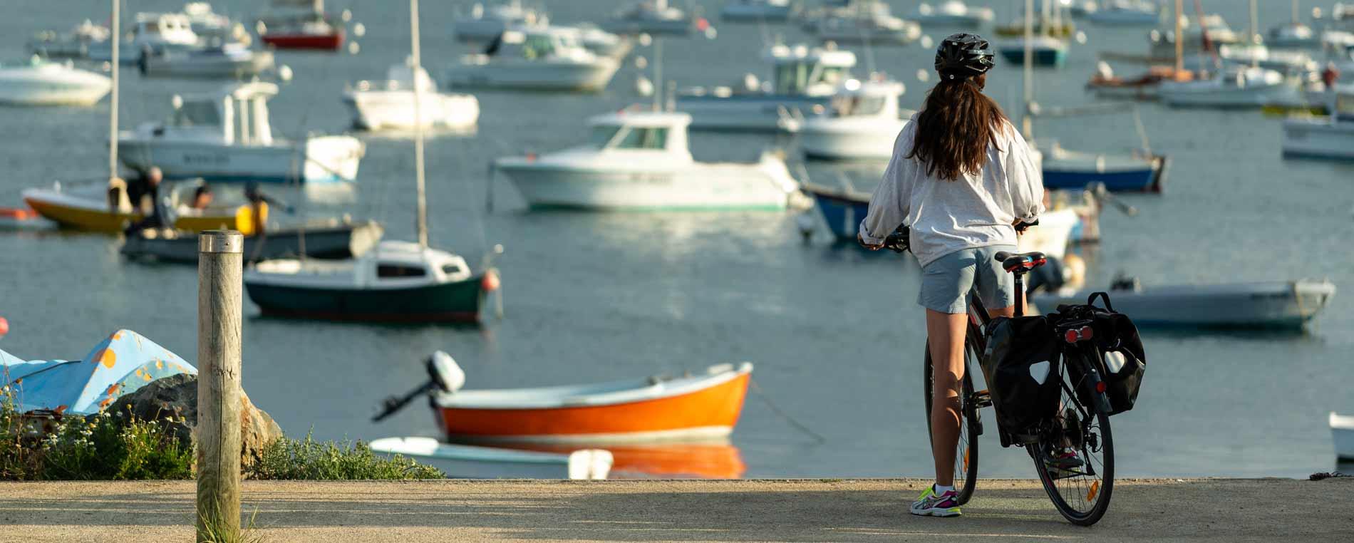 Escapade à vélo : des rives de l'Atlantique aux côtes de la Manche