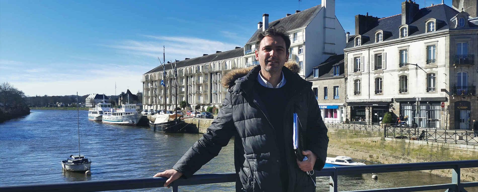 Morgan Barralis, agent immobilier à Quimper