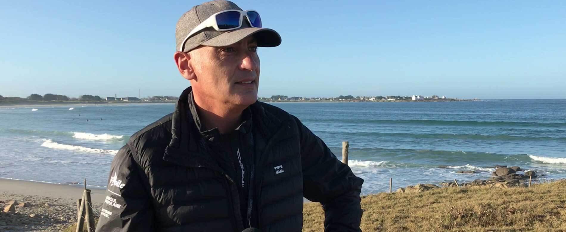 Inclusion par le sport : nos questions à Frédéric Ralec du Sea Kiteboarding à Douarnenez