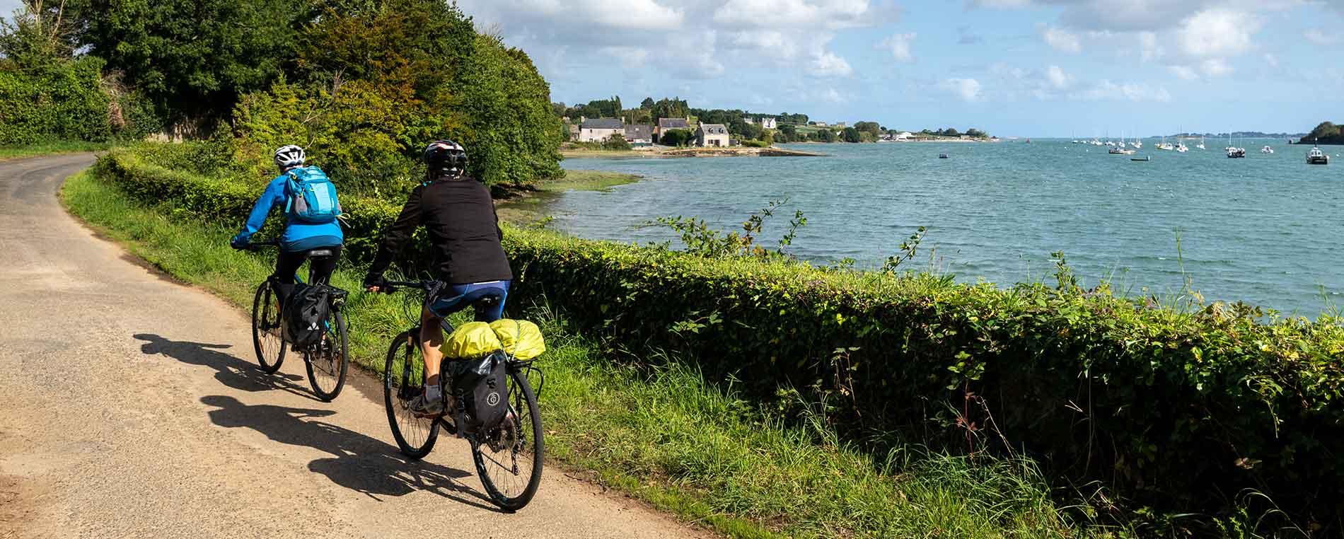 À vélo : de Saint-Pol-de-Léon à Plouénan