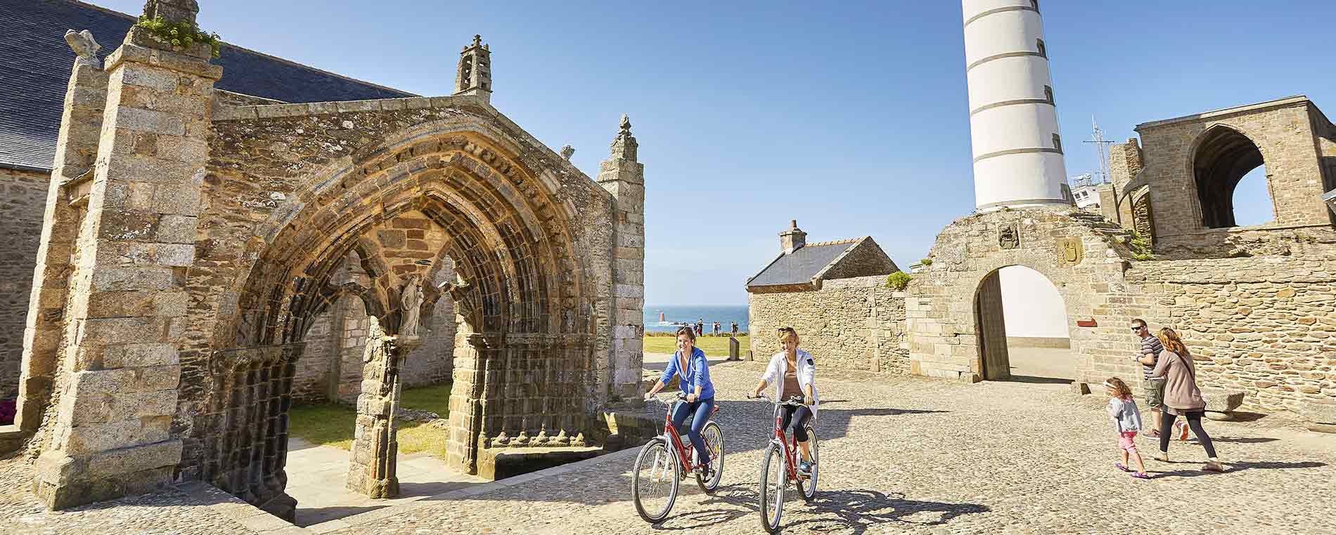 À vélo : Entre Plougonvelin et le Conquet