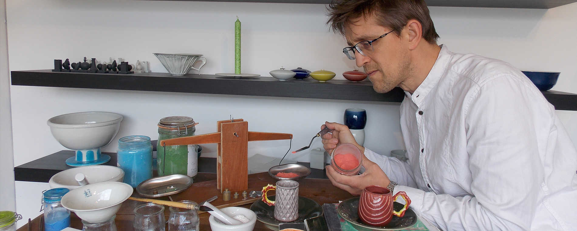 Bas van Zuijlen, designer et céramiste