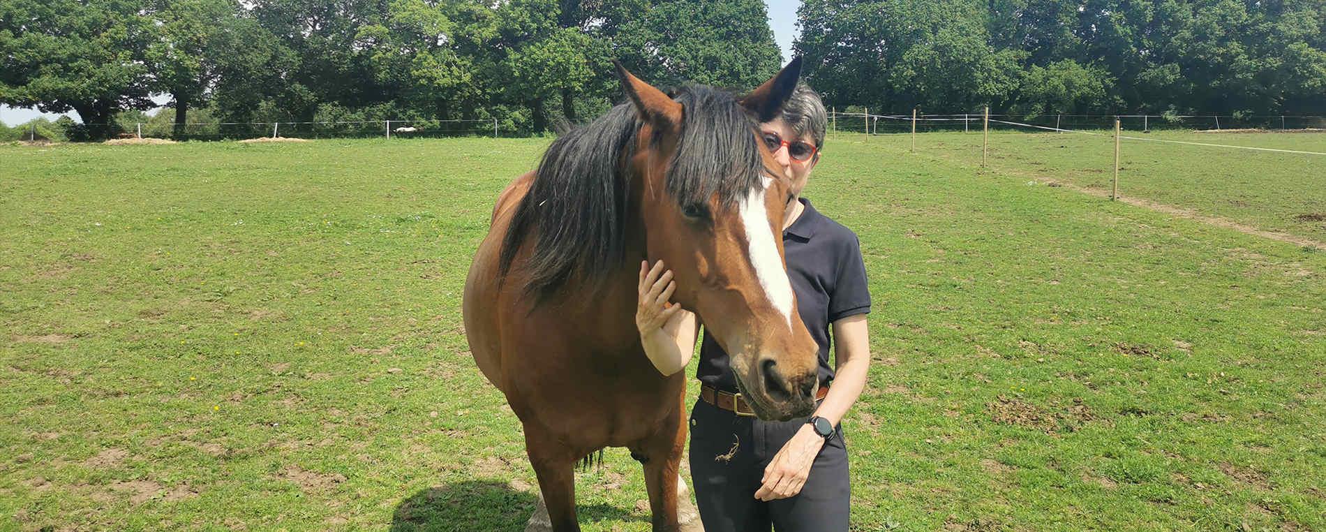 Sophie Beziau, le cheval pour aller mieux