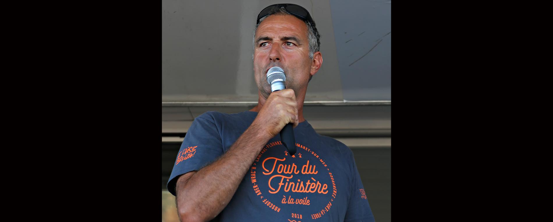 Gaël Le Cléach, chef d'orchestre du Tourduf