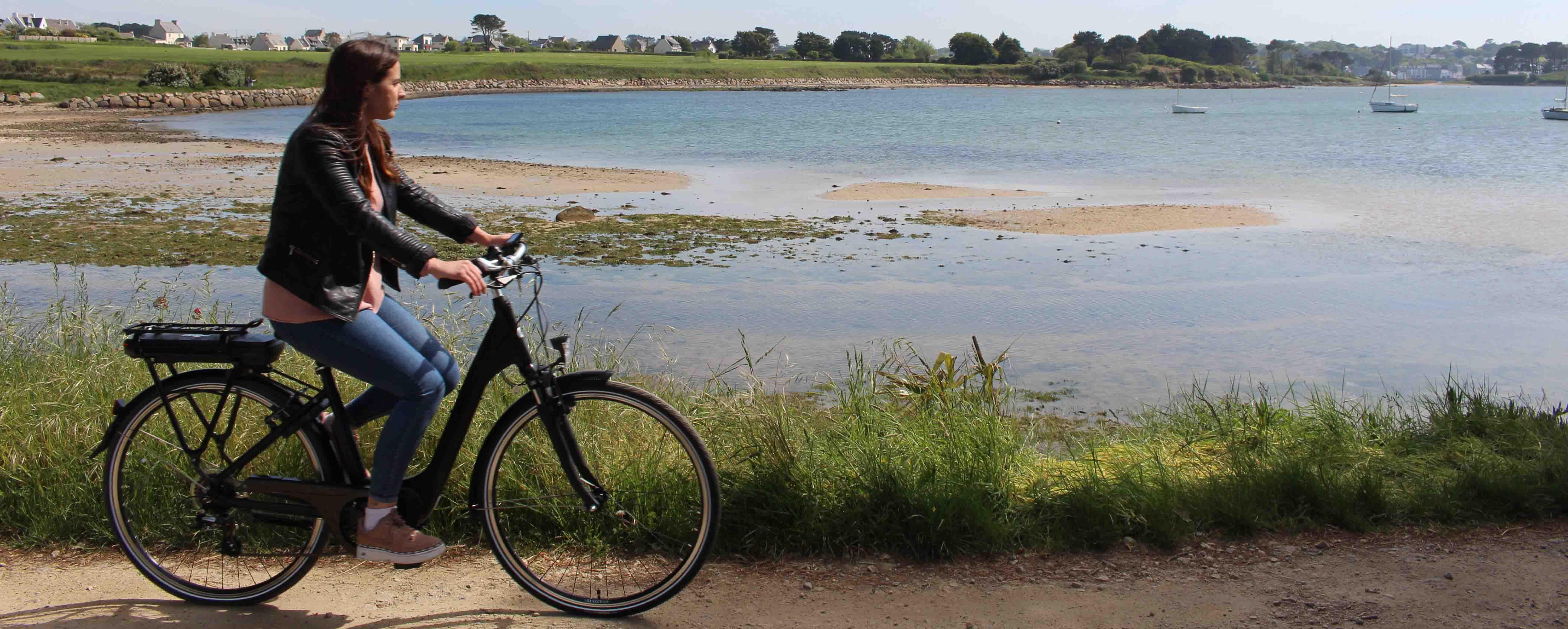 À vélo : sur la route des algues dans les abers