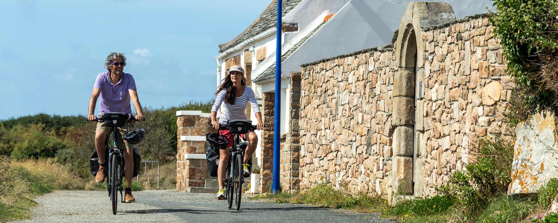 De Morlaix à Carhaix à bicyclette