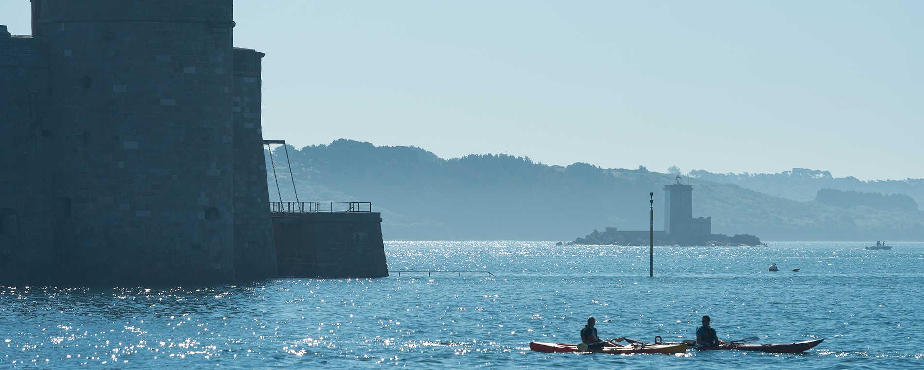 De Roscoff à Carantec : kayak en mer !